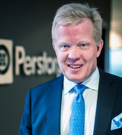Jan Secher Member of the Cefic Board and nomination committee. President and CEO Perstorp