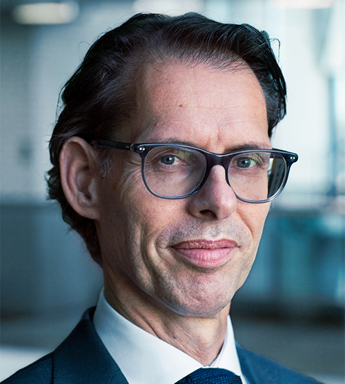 Dimitri de Vreeze , Member of the Cefic Board and Executive Committee and Chair of sustainability Advisory Forum. DSM Co-CEO and Member of the Managing Board.