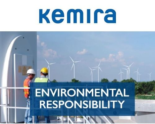 Kemira Winner of the European Responsible Care Awards 2019 in the category - Environmental Responsability