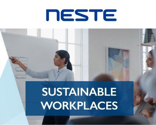 NESTE Winner of the European Responsible Care Awards 2019 in the category - Sustainable workplaces