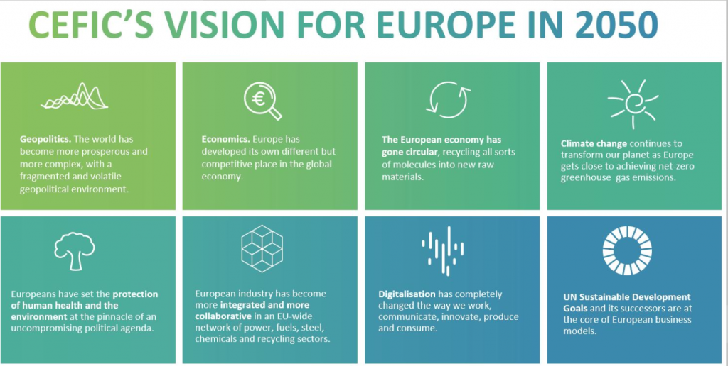 Cefic vision for Europe in 2050. The Molecule Manager report.