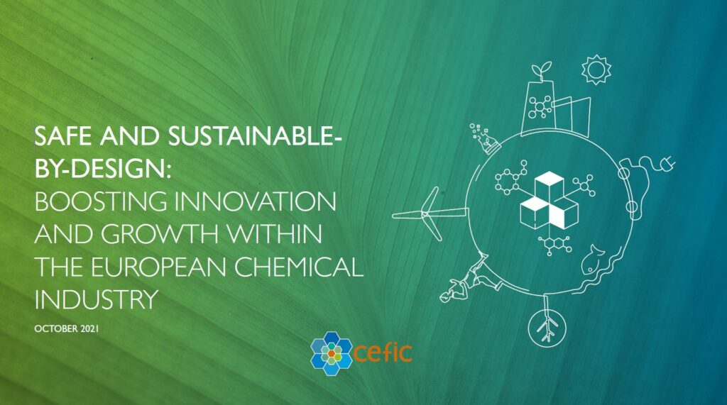 Cover : Safe and Sustainable-by-Design: Boosting innovation and growth within the European chemical industry